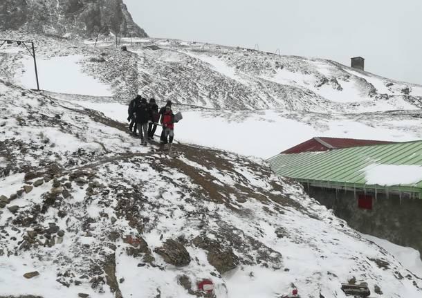 Il rifugio Cai di Somma Lombardo chiude la stagione