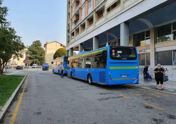 Il ritorno a scuola a Legnano