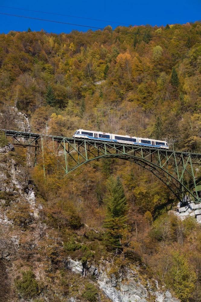 Il treno del foliage e i colori dell'autunno