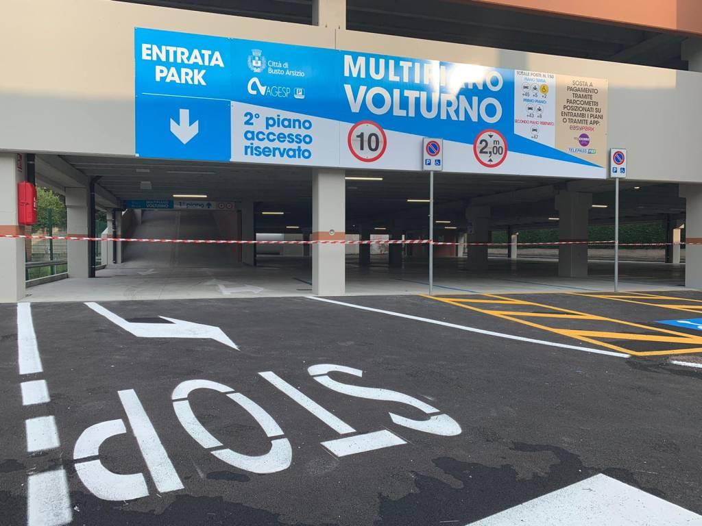 inaugurazione parcheggio multipiano busto arsizio