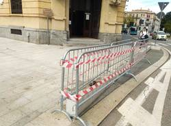 Incidente in piazza San Magno a Legnano