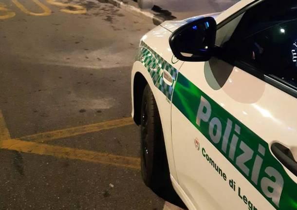 Incidente - Polizia Locale Legnano