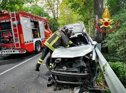 Incidente stradale a Casalzuigno