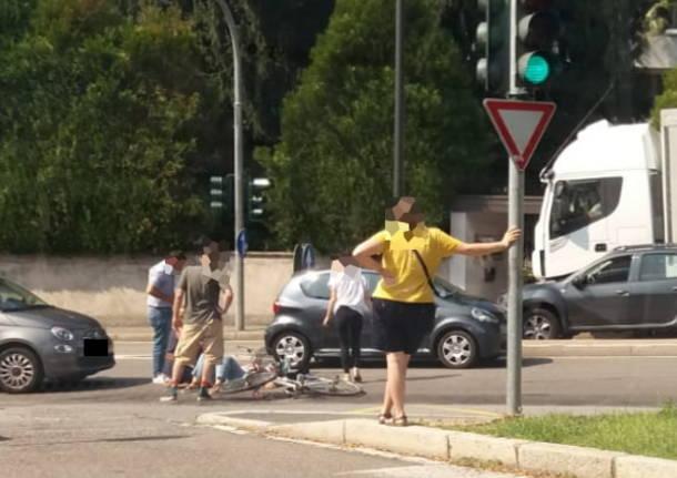 Incidente sul viale Cadorna legnano