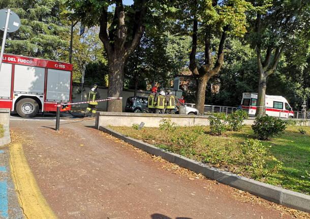 Incidente via Matteotti Legnano