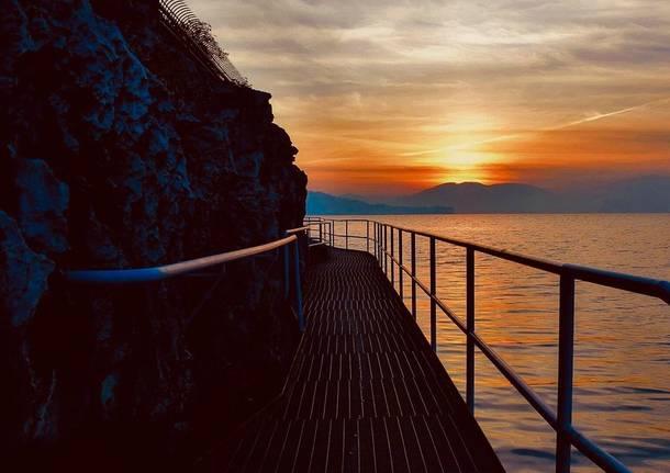 Ispra, tramonto - foto di Giancarlo Tiranti