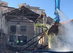 La demolizione dell'Ex Traferri