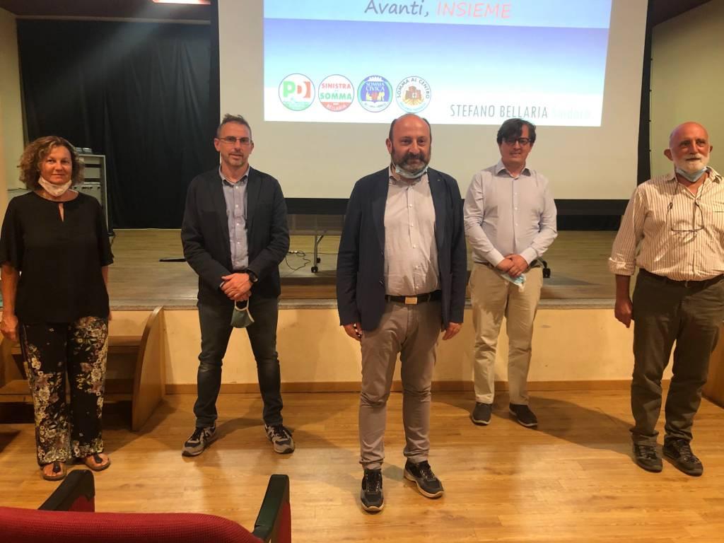 La presentazione della coalizione di Somma Lombardo