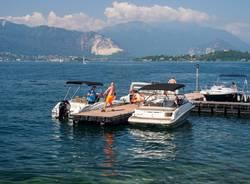 lago maggiore laveno barche