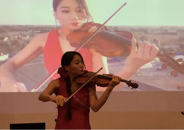 Lena Yokoyama Museo del Tessile giornata Ringraziamento