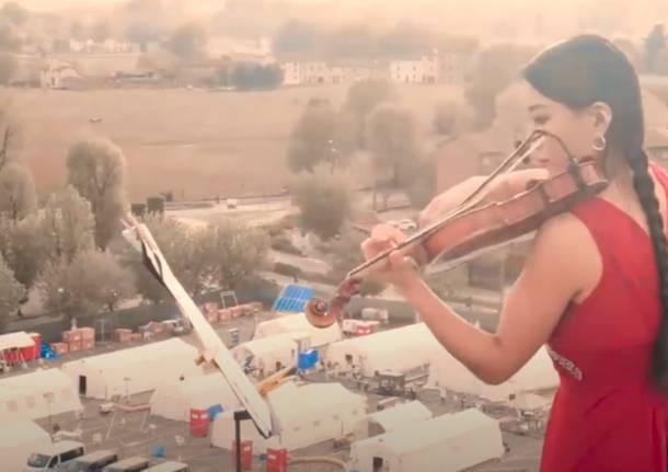 Lena Yokoyama violinista Covid