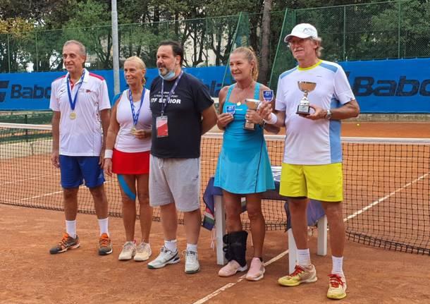 Marco Dedè tricolore nel doppio misto over 65