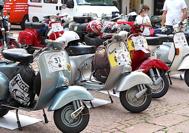 Moto d'epoca a Varese