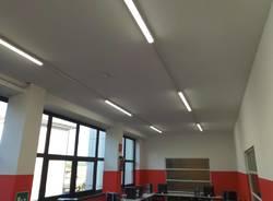 nuova illuminazione scuola ternate