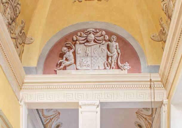 palazzo brambilla stemma castellanza