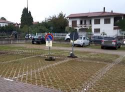 parcheggio scuola cantello