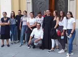 prima messa di don Daniele Saleri a Cerro Maggiore
