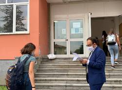 Primo giorno di scuola a Varese
