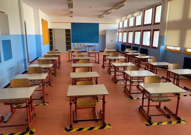 Rientro a scuola Arsago Seprio