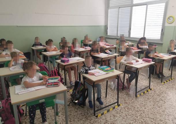 ripartenza scuole albizzate
