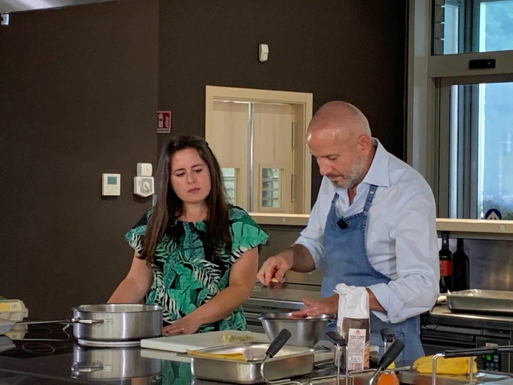 salse e finger food con chef Brovelli