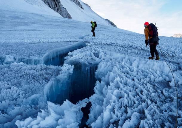 servizio glaciologico lombardo ghiacciai
