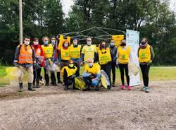Strade Pulite Alto Milanese al lavoro a Parabiago e Gerenzano