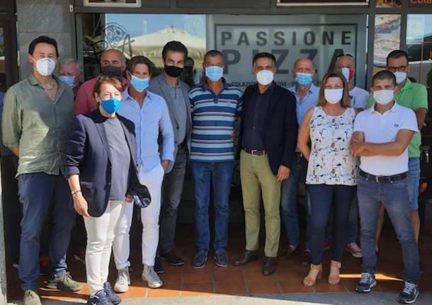 tour elettorale salini forza italia