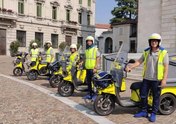 Poste Italiane, a Gallarate arrivano i tricicli elettrici