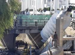 Turbina elettrica salto Olona -Legnano