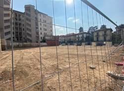 Via Carcano: alla fine i lavori di demolizione