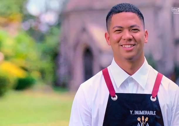 Antonino chef academy con due varesini
