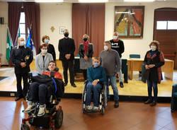 Busto Garolfo, parcheggi di cortesia lilla per disabili