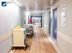 camere protette oncologia ospedale del ponte