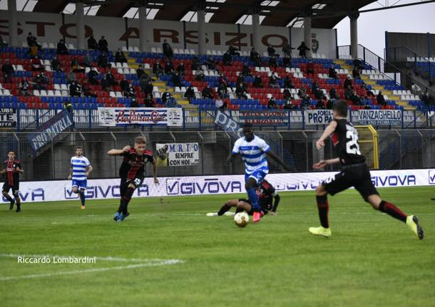 Serie C: Pro Patria - Pro Vercelli