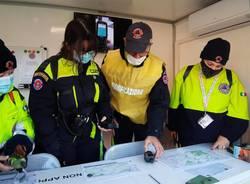 """Cartografia e orientamento, """"allenamento sul campo"""" per la Protezione Civile di Canegrate"""