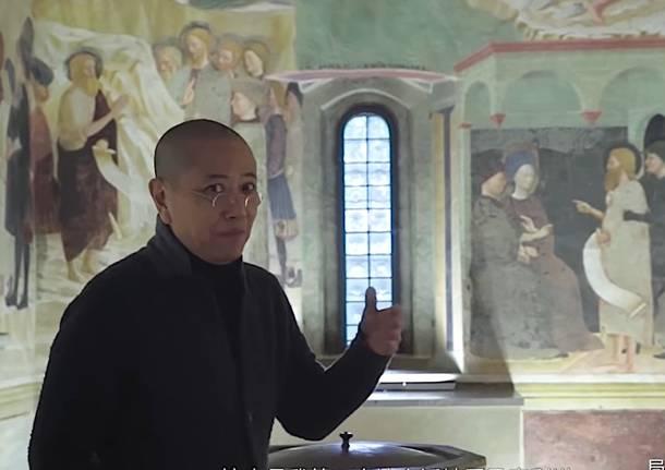 Castiglione Olona - Documentario cinese su Masolino e il borgo