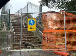 Cominciano i lavori al ponte pedonale di via Magenta
