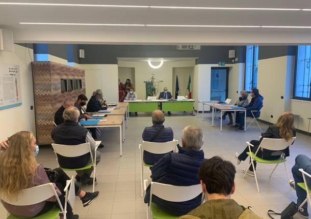 consiglio comunale 2020 Golasecca
