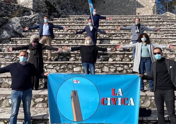 I volti dei promotori de La Civica