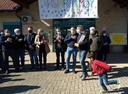 Fontana inaugurazione anno scolastico asilo di Bodio