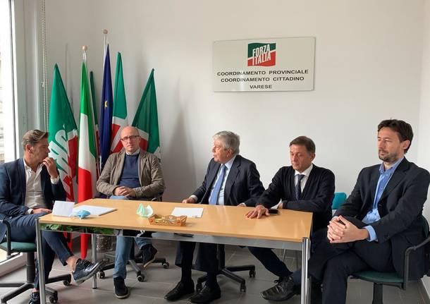 Forza Italia: i nuovi commissari di Varese e Gallarate