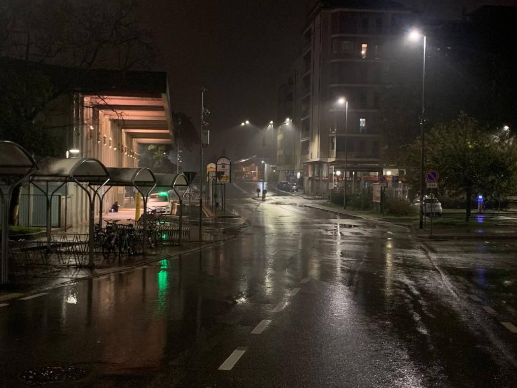 gallarate stazione notte