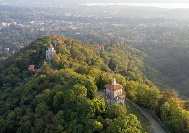 Il Sacro Monte visto dall'alto