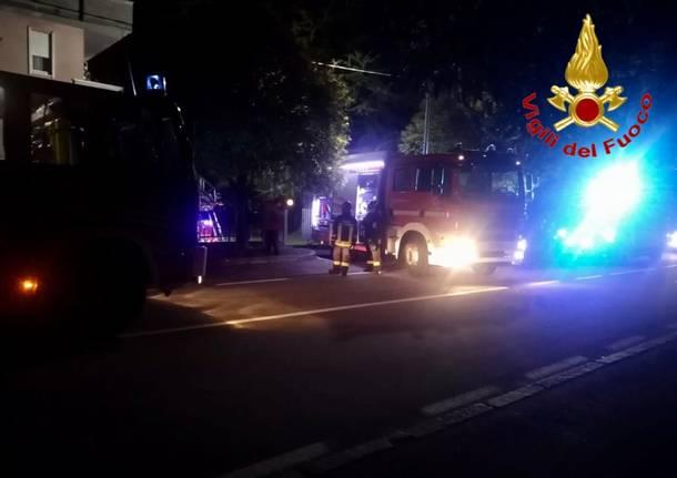 incendio in cassano magnago