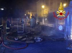 Incendio Luino