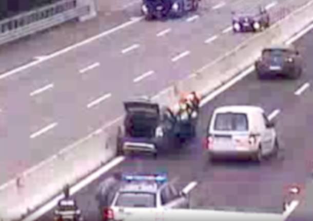 incidente autostrada a8