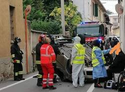 incidente gallarate via donatello crenna