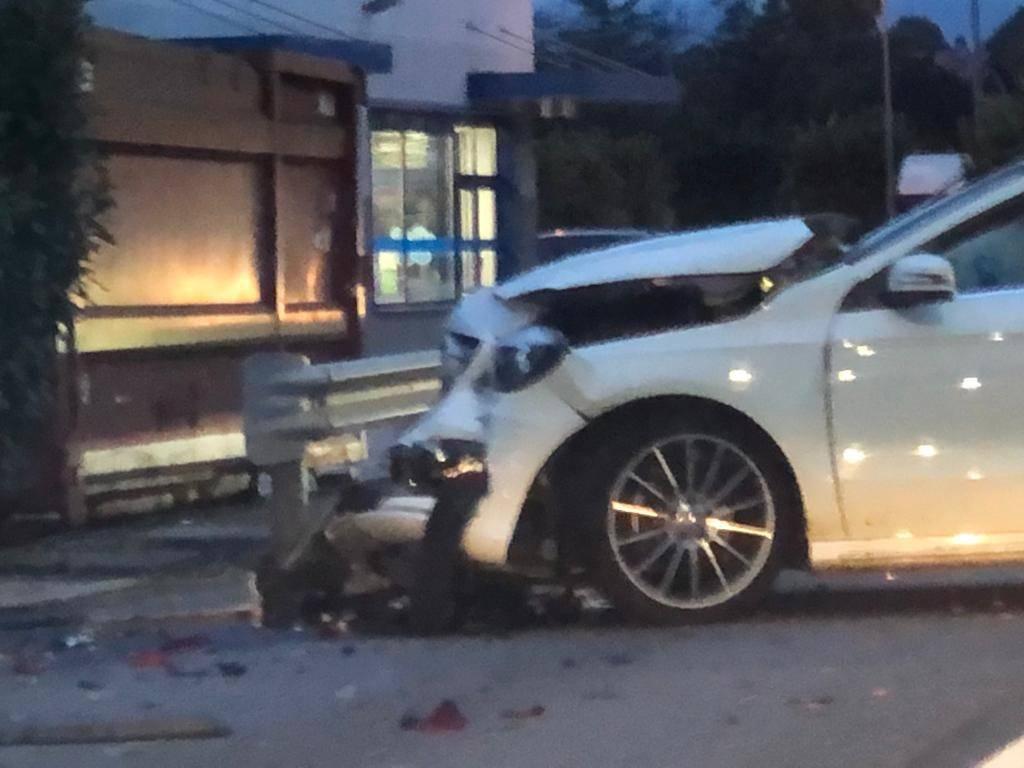 Incidente sulla statale a Cocquio Trevisago