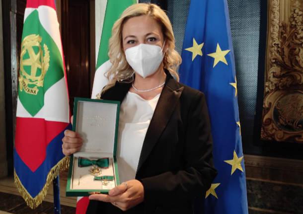 La ricercatrice di Parabiago Alessia Lai premiata da Sergio Mattarella